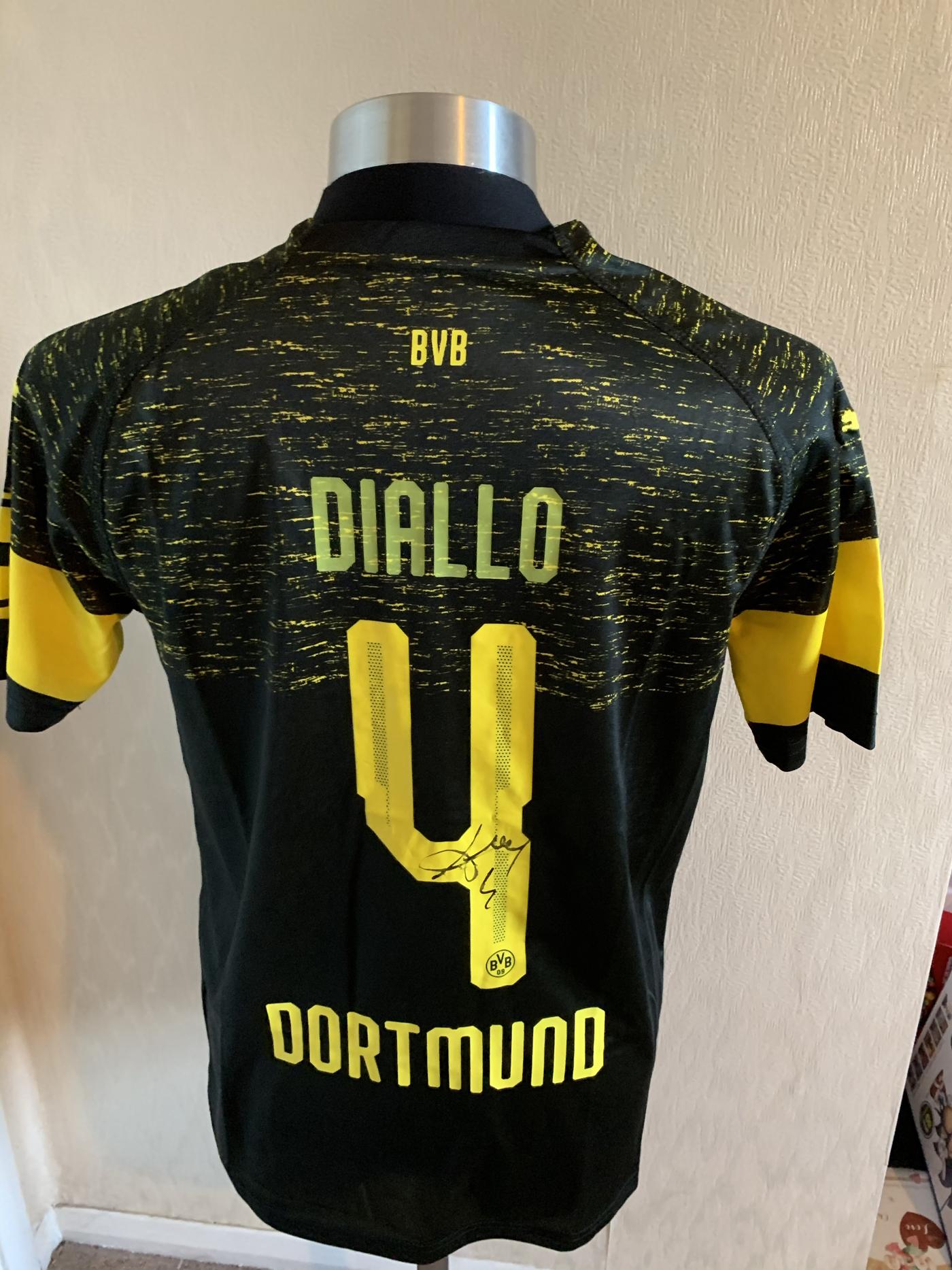 Signed Abdou Diallo Borussia Dortmund shirt